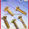 High Precision Hardware Brass Slotted Countersunk