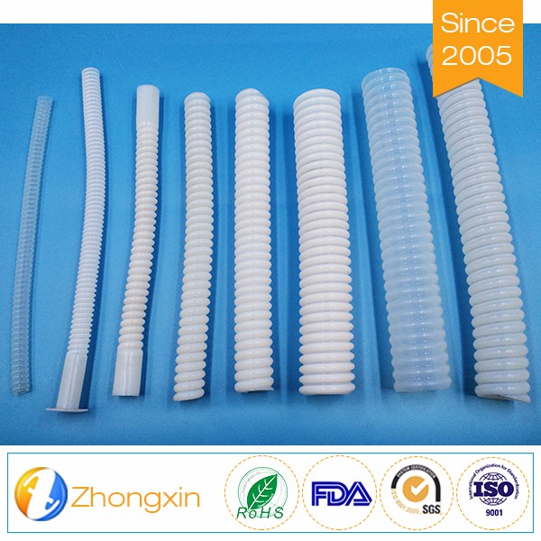 China wholesale rubber bellows tube teflon hose corrugated pipe