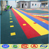 Multi purpose plastic outdoor playground court flooring for sale