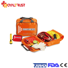 Road accident automobiles and motorcycles first aid kit