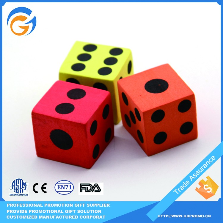 HONGBIN Customized Promotion Pu Ball Dice