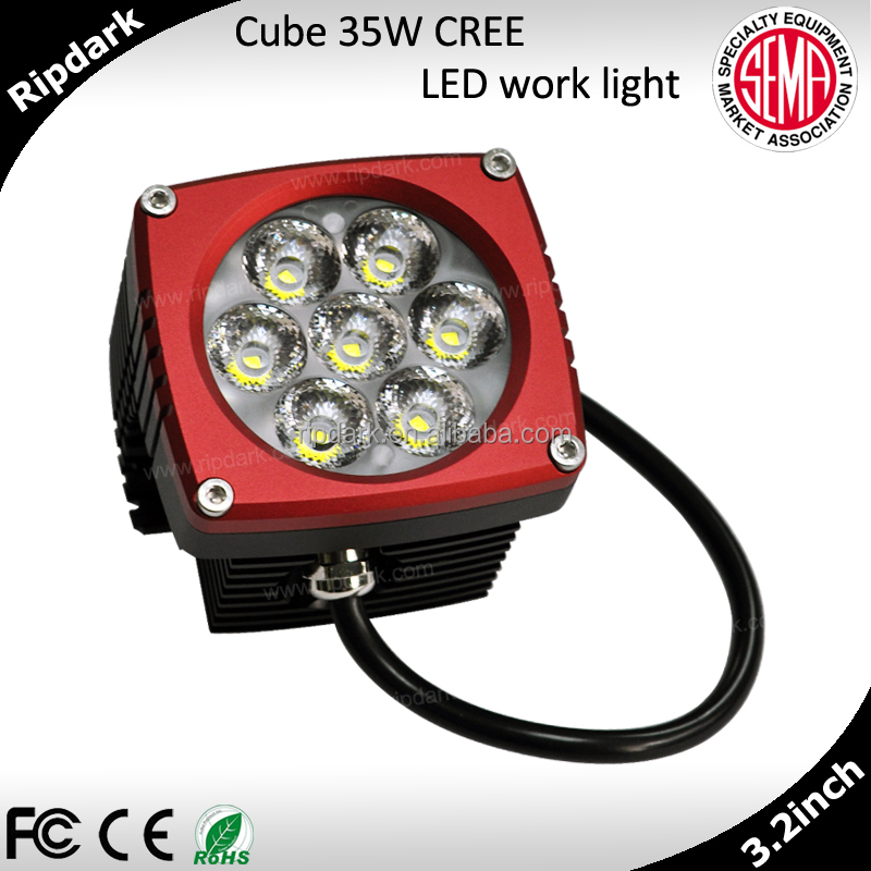 Factory direct, CNC made IP68 unique bumper bar avoid radio interference 30w led work light