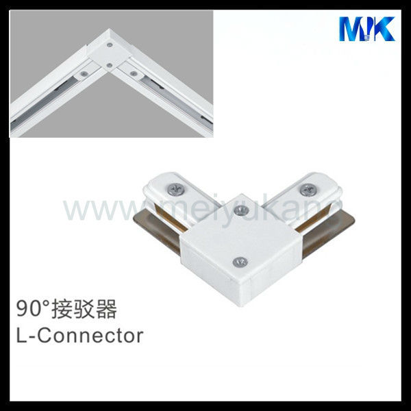 Best Selling Products on Europe 4wire white track light Rails low price light connetor, Led Track Lighting Adaptor