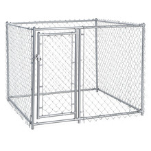 Eco-friendly 6x10-foot Galvanized wire mesh dog kennel / Dog pens / Dog runs