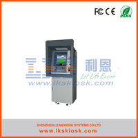 payment terminal atm kiosk with cash dispenser