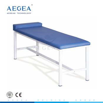 AG-ECC02 with soft sponge mattress folding couch hospital examination table