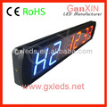 "Led light clock indoor 4"" led digital interval timer"