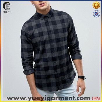 different types shirts men new design stylish shirts checked fabric plaid shirt