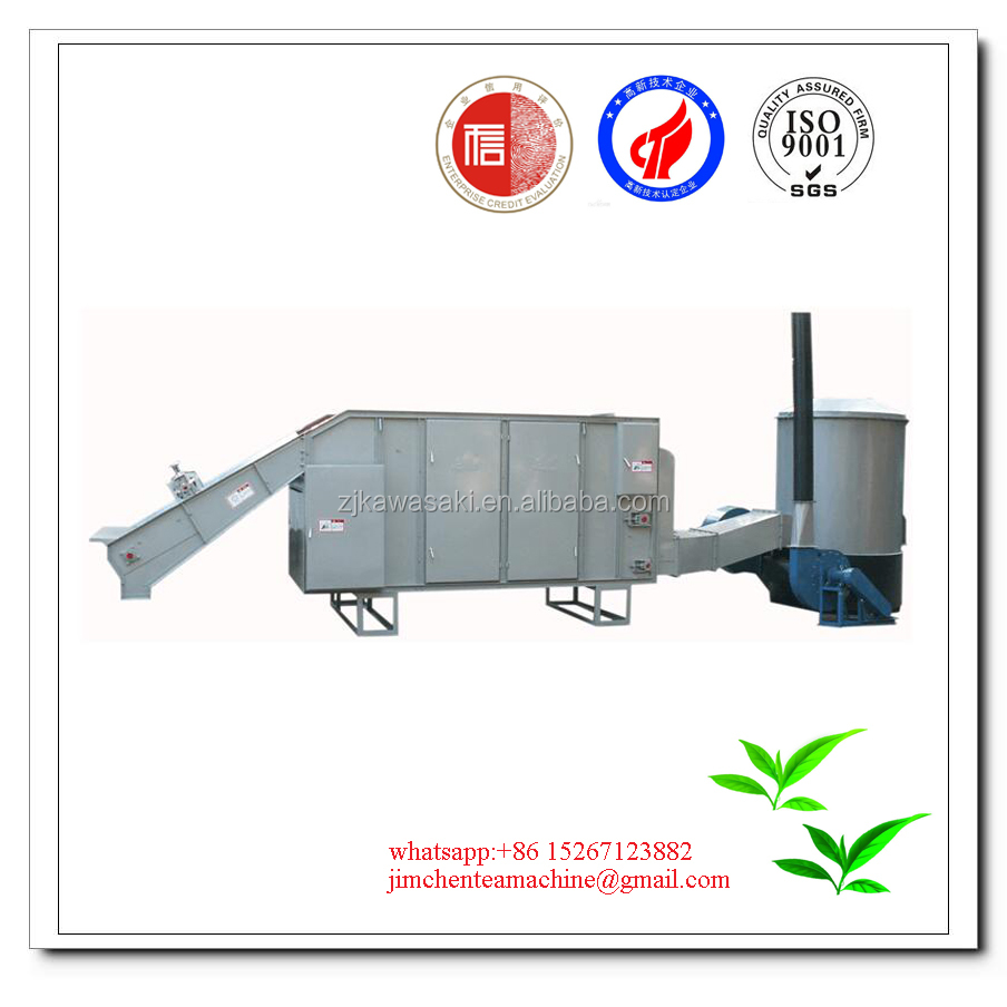 green tea manufacturing process /Large high quality tea leaf drying machine 6CH-50A