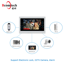 2017 Best Selling Waterproof AHD Video Door Phone Monitor Can Connect Extra CCTV Camera