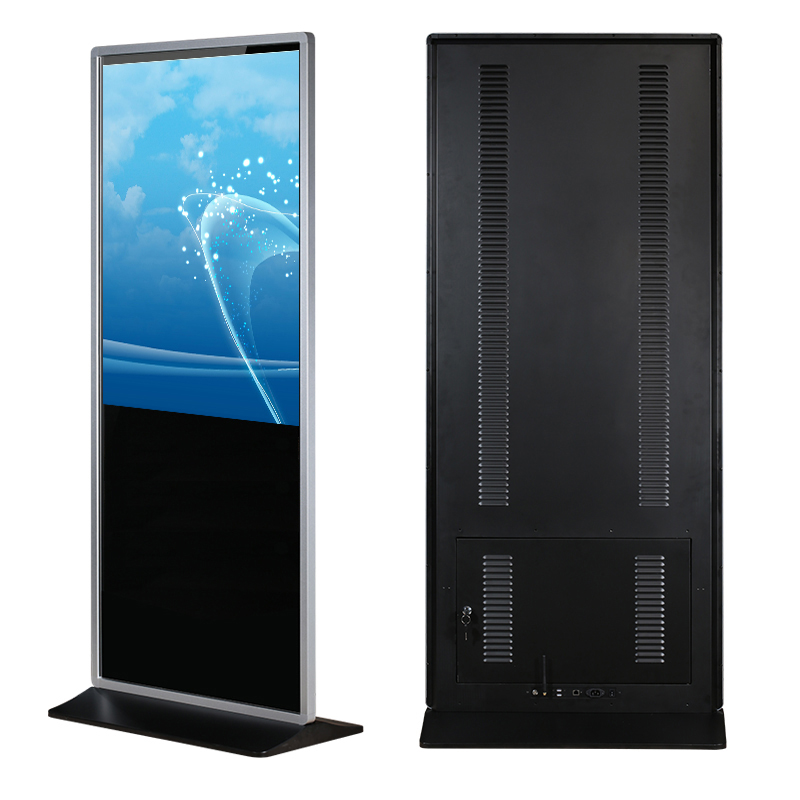"43"" Floor Standing Network Touch LCD Advertising Display Screen"