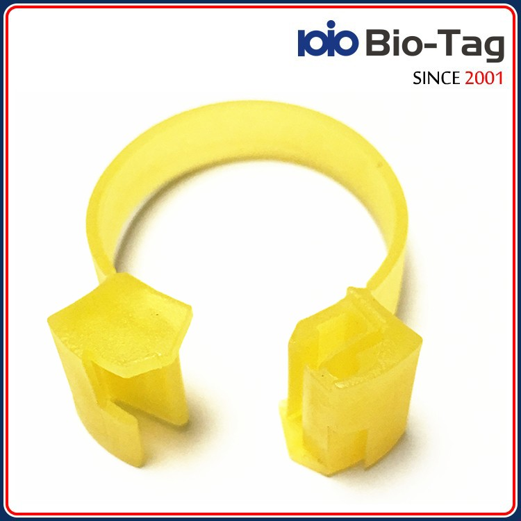 Professional After-sales Follow-up ICAR Authorized LF Low Frequency 134.2khz rfid chicken foot ring
