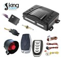 one way car alarm system with side door delay function