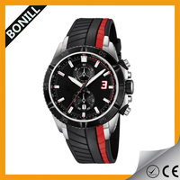 Experienced OEM manufacturer lotus watch with high quality silicon band