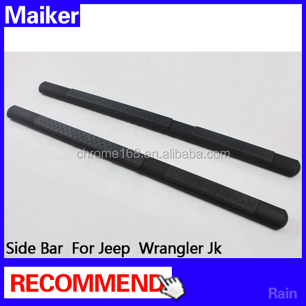 4 doors/2 doors running board for jeep wrangler accessories car Side Step for wrangler from maiker