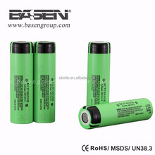 3400mah 18650 high capacity batteries NCR18650B 3.7V 18650 li ion battery cell