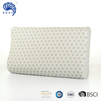 Memory Foam Contour charcoal Pillow