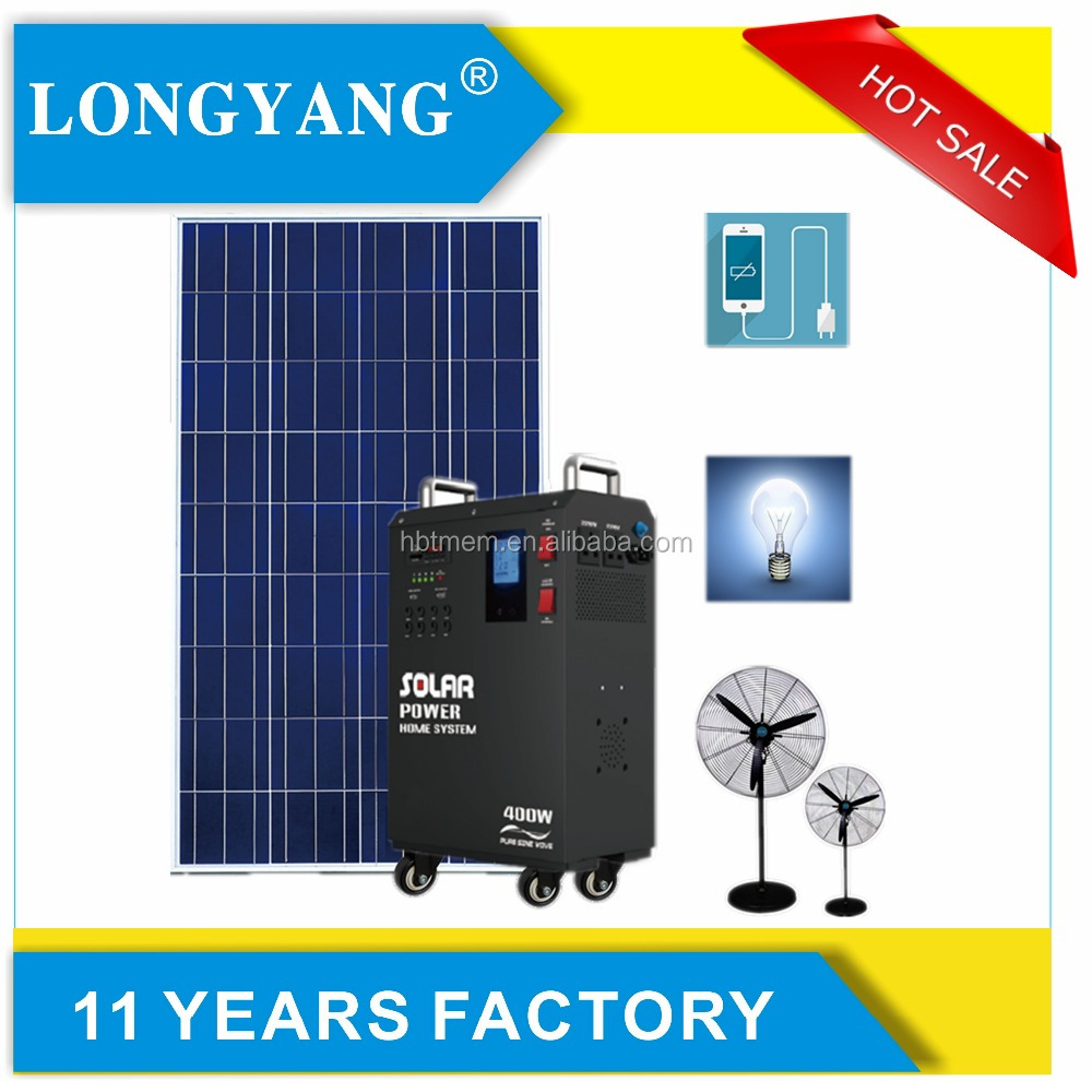 220v solar power home system with 8pcs 12vDC port 500w portable solar power generator
