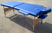 2 section portable wooden Massage tables