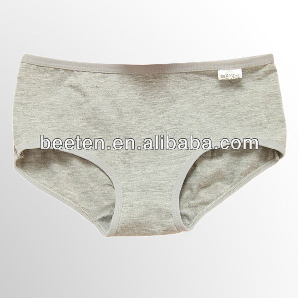 pure cotton panties grey color