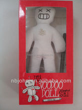 voodoo doll with mark pen