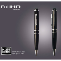 Only one button easy operation 1080p full hd pen camera