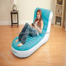 liviing room furniture intex 68880 anti-puncture bottom inflatable lounge with backrest