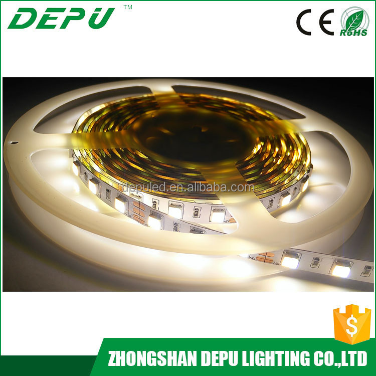 direct buy china smd 5025 ip20 white and warm white led stripe bicolor led strip