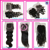 Wholesale top quality brazilian cheap lace front closure piece