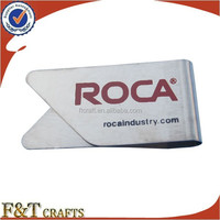 promotional metal mini paper clip with custom logo