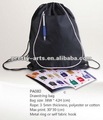 waterproof nylon mesh drawstring bags