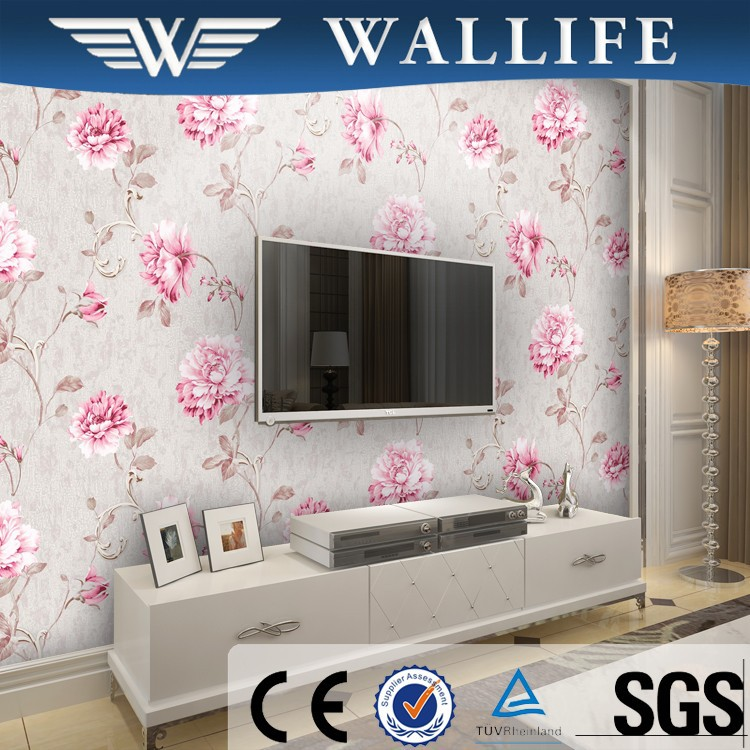 LM10301 beautiful waterproof wall paper wallpaper supplier in China