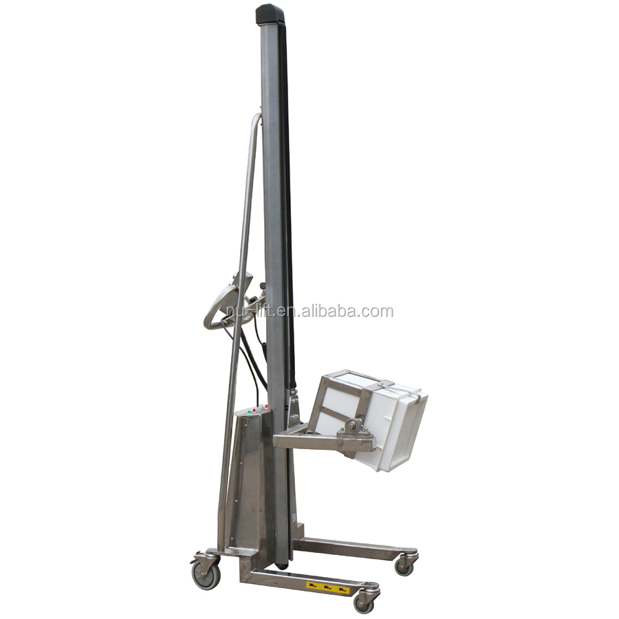 Electric Type Stainless Steel Work Positioner