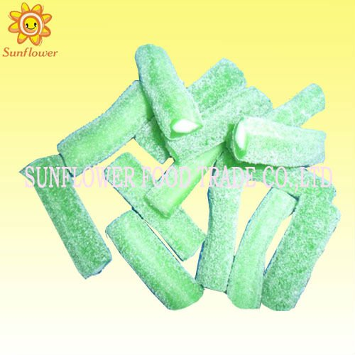 Sour Apple Liquorice Candy