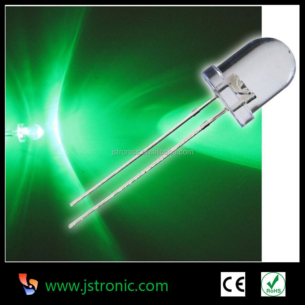 Through hole package 5mm 8mm 10mm red yellow blue green led diode