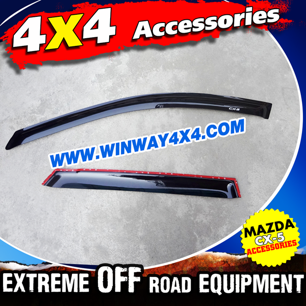 Weather Deflectors Rain Shield For Mazda CX-5 2012-2015