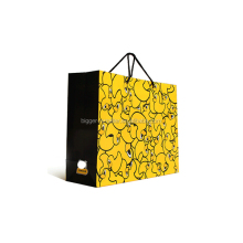 White matte shopping bags are the perfect blank canvases for your business's take out bags. These are a great starter bag