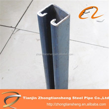 steel profile post in steel C channel/hot rolled c steel/Small steel channel supplier