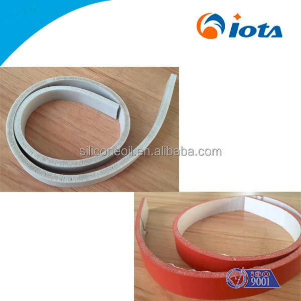 High elastic foam silicone strip IOTA 4801 used for Radio, electrical, telecommunications industry