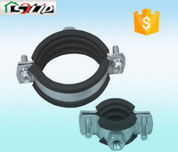 stell rubber galvanized stainless steel hose clips