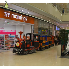 Interesting products trackless used small amusement park electric trains for sale