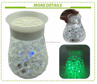 New arrival decorative crystal beads air freshener with LED lights