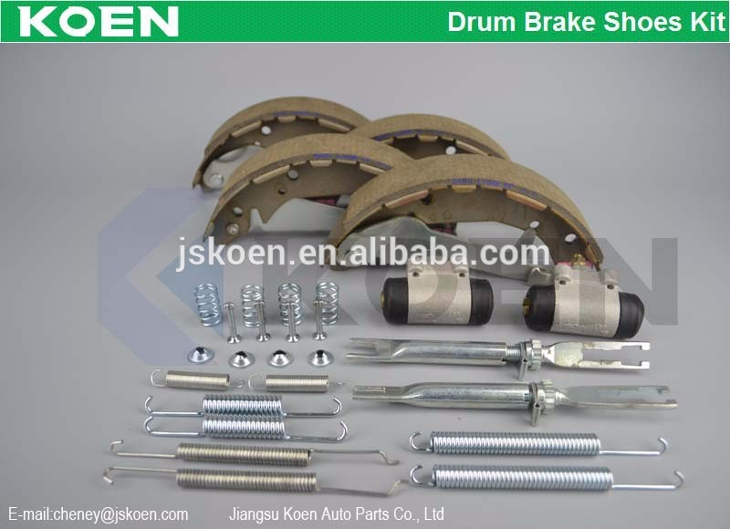 Supply Drum Brake Shoes Kit Use For TOPRAN:820 524 - 821 529