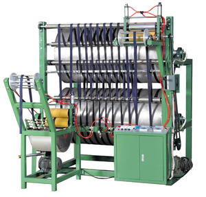 Starch and Ironing Finishing Machine