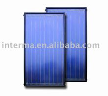 CE flat panel solar collector
