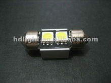 Ultra bright,festoon/C5W,31mm/36mm,2SMD5050,12V DC,auto led lamp smd 5050 1210