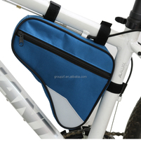 SG2001 Tube Shaped Frame Bicycle Polyester Mountain Cycling The Most Popular Saddle Triangle Bike Bag