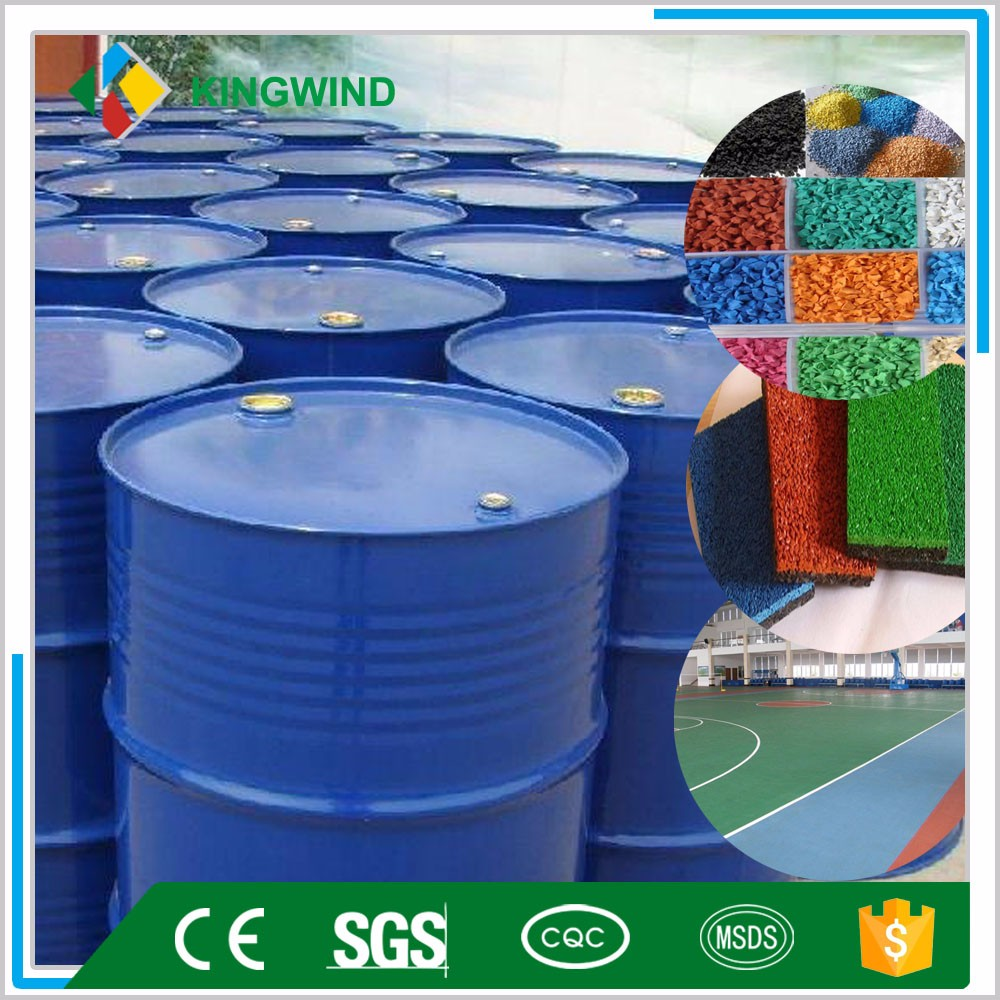 polyurethane binder for rubber granules