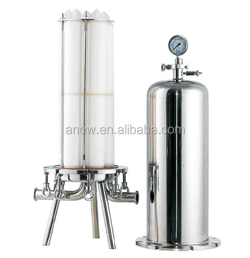 Beer and Wine, Soft Drink Indusrial Critical Processing Stainless Steel 316L Sanitary Filter Housing