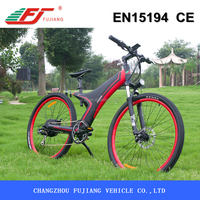 Mountain conqueror shanghai electric bicycle with motor kit